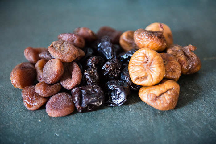 Dried Figs, Apricots and Prunes