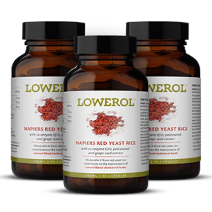 Lowerol Natural Statin Free Cholesterol Lowering